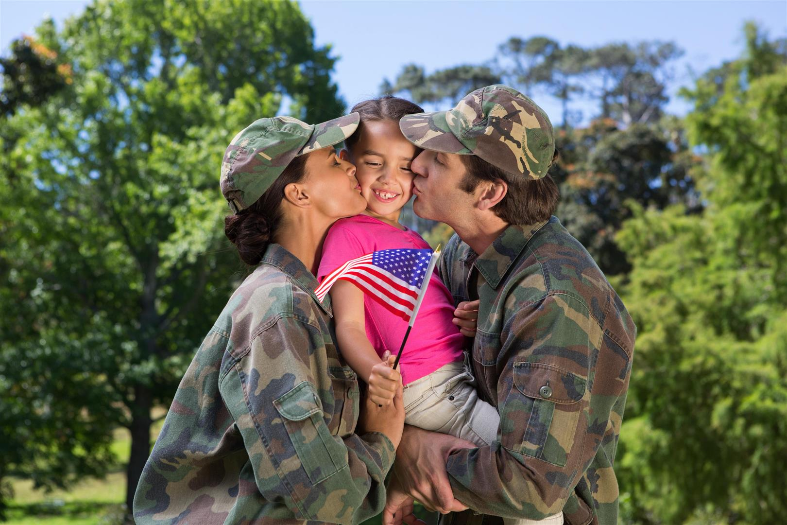 military family fort campbell