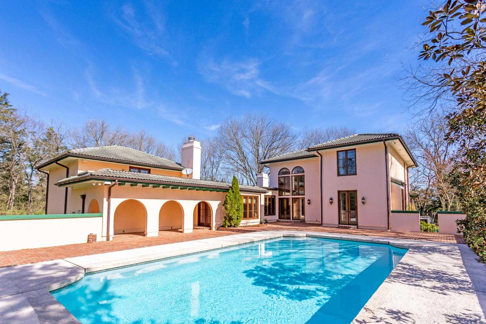 homes pool vaughn road bellevue nashville