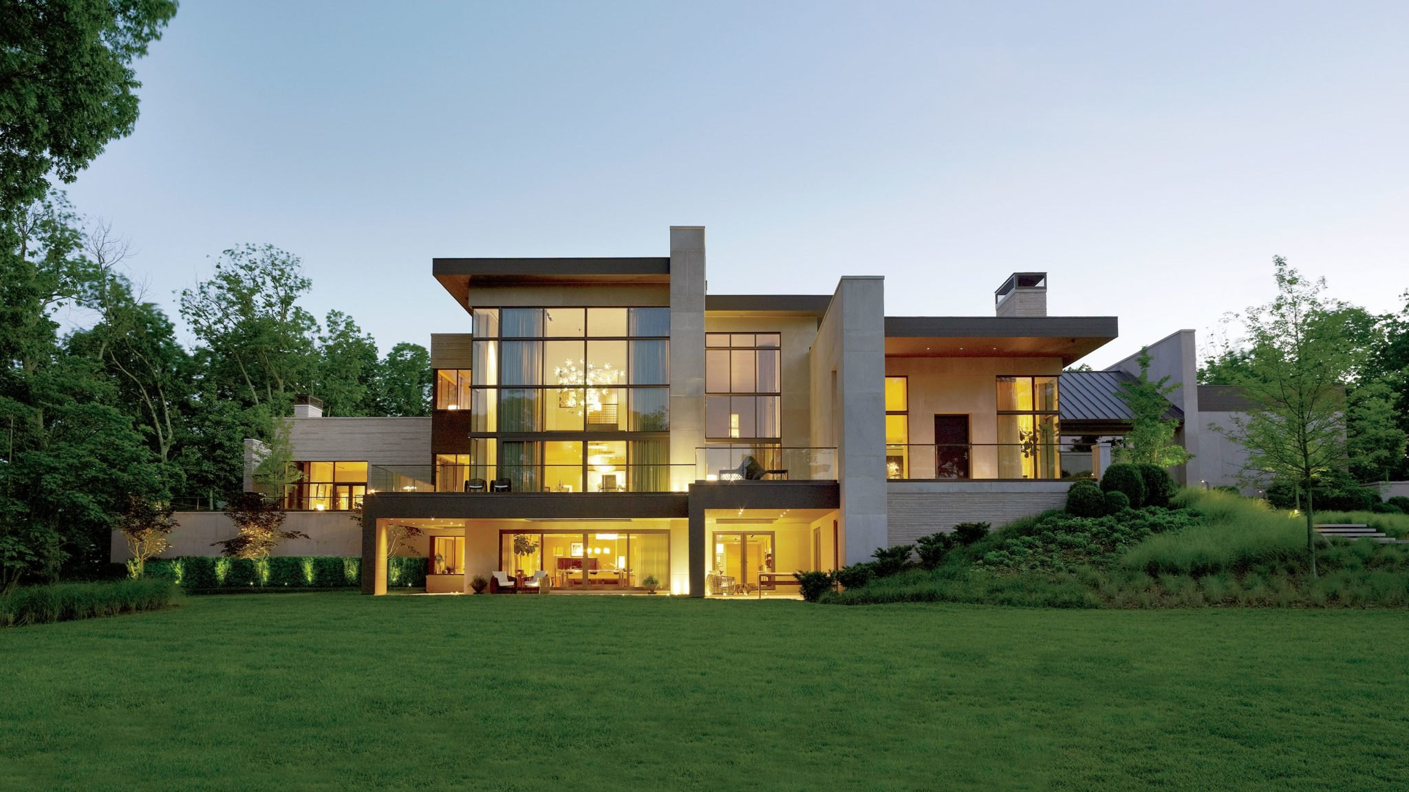 contemporary architecture family home
