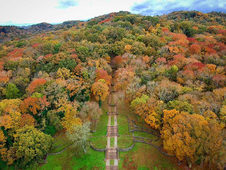 Percy Warner Park In Davidson County Tn