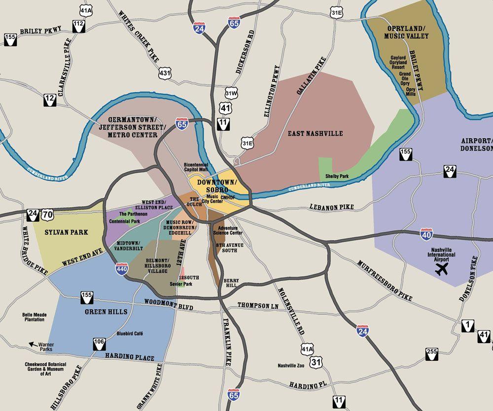 Nashville Tn Real Estate Map